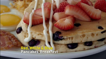 Denny's Red, White & Blue Specials TV Spot, 'Tastes American' - Thumbnail 8