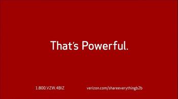 Verizon Share Everything Plan TV Spot, 'Small Business' - Thumbnail 10