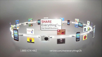 Verizon Share Everything Plan TV Spot, 'Small Business' - Thumbnail 9
