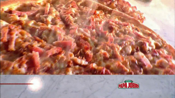 Papa John's Double Bacon Six Cheese Pizza TV Spot, 'Wheat' - Thumbnail 3