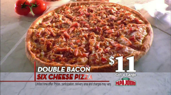 Papa John's Double Bacon Six Cheese Pizza TV Spot, 'Wheat' - Thumbnail 4