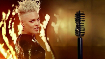 CoverGirl Flamed Out Mascara TV Spot Featuring Pink - 472 commercial airings