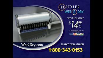 Instyler TV Spot, 'Wet 2 Dry' - Thumbnail 7