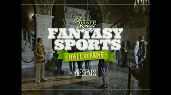 DraftKings 1-Day Fantasy Baseball TV Spot, \'Hall of Fame\'