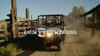 John Deere Gator XUV 550 S4 TV Spot, 'Gator vs Expectations'