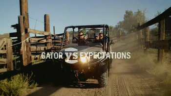 John Deere Gator XUV 550 S4 TV Spot, 'Gator vs Expectations'