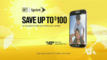 Sprint Truly Unlimited Data TV Spot, '$100 Off Phone: Father's Day' - Thumbnail 2