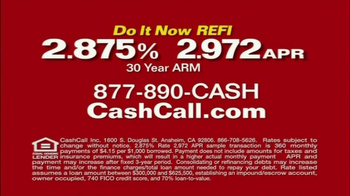 Cash Call Do It Now REFI TV Spot, 'Kicking Yourself' - Thumbnail 10