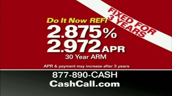 Cash Call Do It Now REFI TV Spot, 'Kicking Yourself' - Thumbnail 5