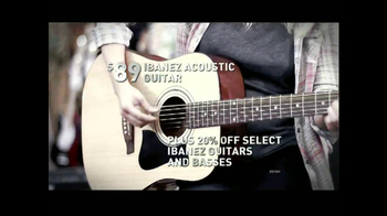 Guitar Center Memorial Weekend Sale TV Spot - Thumbnail 3