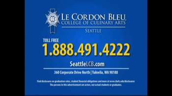 Le Cordon Bleu Career Guide TV Spot, 'Seattle' - Thumbnail 10