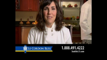 Le Cordon Bleu Career Guide TV Spot, 'Seattle' - Thumbnail 3
