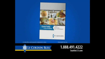 Le Cordon Bleu Career Guide TV Spot, 'Seattle' - Thumbnail 6