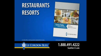 Le Cordon Bleu Career Guide TV Spot, 'Seattle' - Thumbnail 7