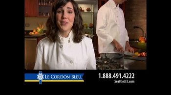 Le Cordon Bleu Career Guide TV Spot, 'Seattle' - Thumbnail 8
