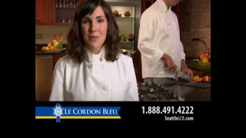 Le Cordon Bleu Career Guide TV Spot, 'Seattle' - Thumbnail 9