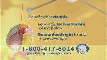 Gerber Life Grow Up Plan TV Spot, 'Parents & Grandparents' - Thumbnail 7