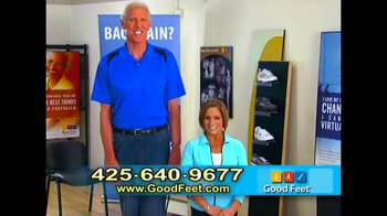 Good Feet TV Spot Featuring Bill Walton and Mary Lou Retton