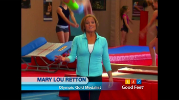 Good Feet TV Spot Featuring Bill Walton and Mary Lou Retton - Thumbnail 2