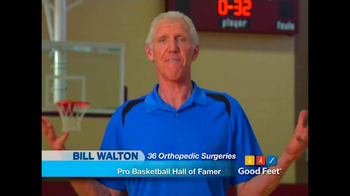 Good Feet TV Spot Featuring Bill Walton and Mary Lou Retton - Thumbnail 3