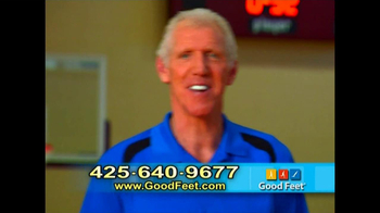 Good Feet TV Spot Featuring Bill Walton and Mary Lou Retton - Thumbnail 7