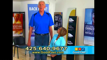 Good Feet TV Spot Featuring Bill Walton and Mary Lou Retton - Thumbnail 9