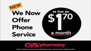 magicJack TV Spot, '$1.70: CVS Pharmacy'