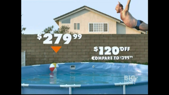 Big Lots TV Spot, 'Belly Flop' - Thumbnail 3