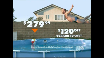 Big Lots TV Spot, 'Belly Flop' - Thumbnail 4