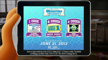 Kellogg's Cereal TV Spot, 'Monsters University' - Thumbnail 8