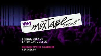 VH1 TV Spot, '2013 Mixtape Festival: Hershey Park Stadium'