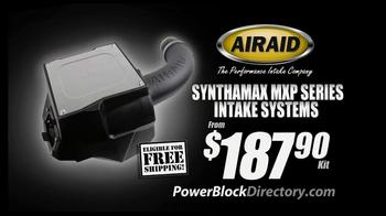 PowerBlock Directory TV Spot, 'Lowest Prices: AIRAID' - Thumbnail 2