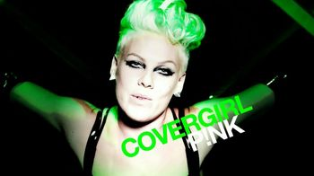 CoverGirl Clump Crusher TV Spot, 'Fearless' Featuring Pink