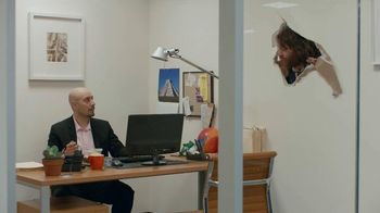 Vonage TV Spot 'Generosity Officer Breaking Down Walls'
