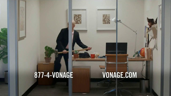 Vonage TV Spot 'Generosity Officer Breaking Down Walls' - Thumbnail 6