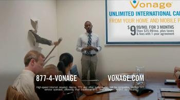 Vonage TV Spot 'Generosity Officer Breaking Down Walls' - Thumbnail 7
