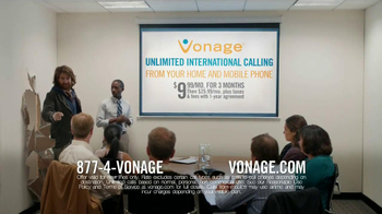 Vonage TV Spot 'Generosity Officer Breaking Down Walls' - Thumbnail 8