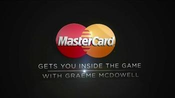 Mastercard World TV Spot, 'Inside the Game' Featuring Graeme McDowell - Thumbnail 1