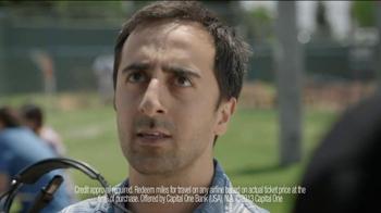 Capital One Venture Card TV Spot, 'Baseball Banter: Hey Ump' - Thumbnail 10