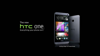 HTC One TV Spot, 'Cutting Edge'