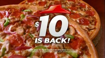 Pizza Hut $10 Any Pizza TV Spot - Thumbnail 9