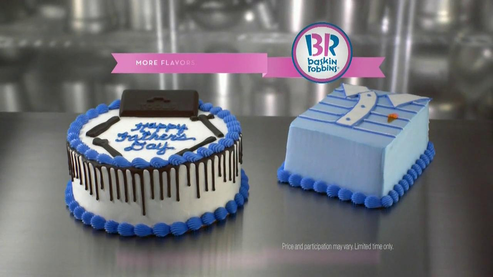 BaskinRobbins TV Commercial Fathers Day Ice Cream Cake iSpottv