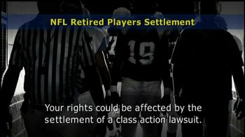 Retired NFL Players Class Publicity Rights Settlement TV Spot - Thumbnail 3