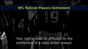 Retired NFL Players Class Publicity Rights Settlement TV Spot - Thumbnail 4
