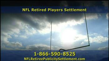 Retired NFL Players Class Publicity Rights Settlement TV Spot - Thumbnail 5