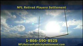 Retired NFL Players Class Publicity Rights Settlement TV Spot - Thumbnail 6