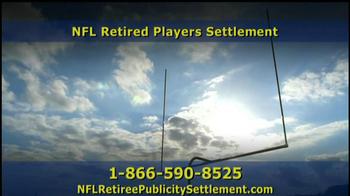 Retired NFL Players Class Publicity Rights Settlement TV Spot - Thumbnail 7