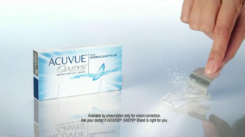 ACUVUE Oasys Contacts TV Spot, 'Office Dry Eyes' - Thumbnail 6