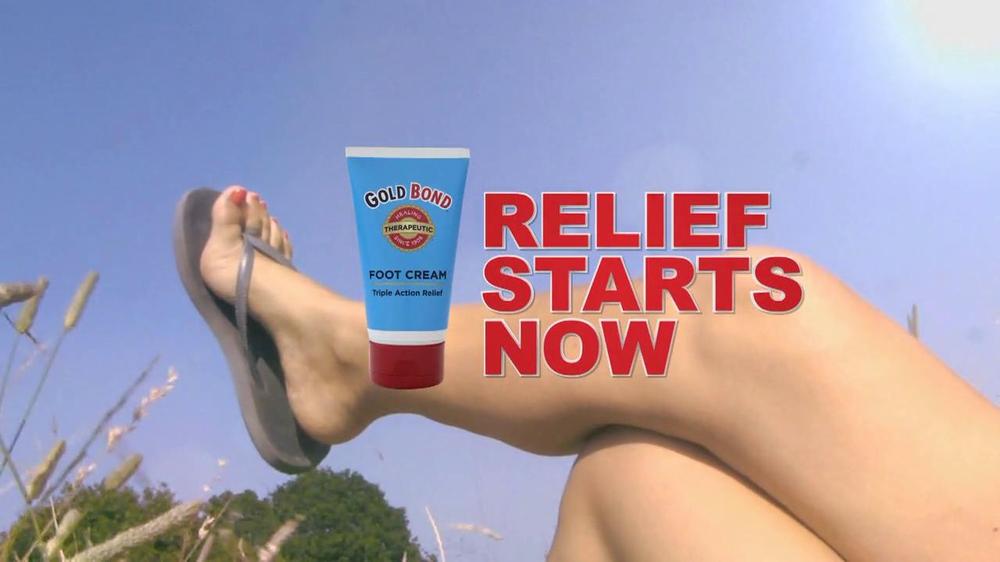 Gold Bond Foot Cream Tv Commercial Sandal Ready Feet