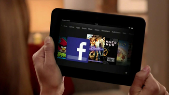 Amazon Fire HD TV Spot, 'Thinking About a Tablet' - Thumbnail 3
